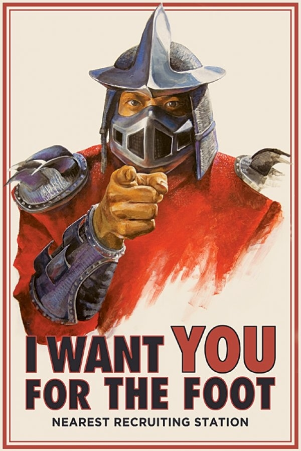 HiveWorkshop Upload Tmnt-foot-clan-recruiting-poster